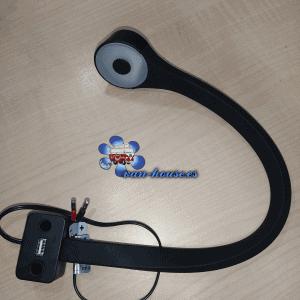 Lámpara LED de Cuello de Cisne Negra – Silicona + Conexión USB