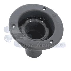Bocana de Llenado (Cuello Corto) Negro – 40mm