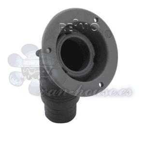 Bocana de Llenado (Cuello Largo) Negro – 40mm