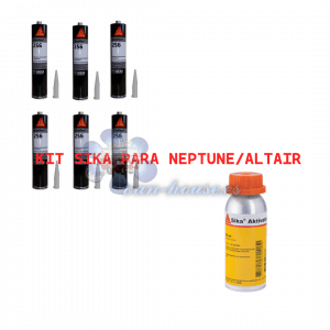 KIT SIKA (ALTAIR-NEPTUNE) 6 Cartuchos SIKA 256FC + ACTIVADOR 1431