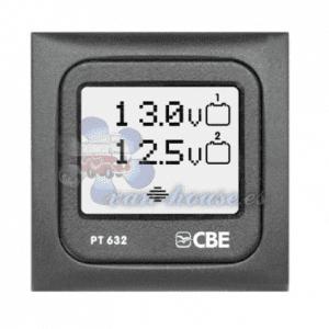 Doble Voltímetro CBE – PT632