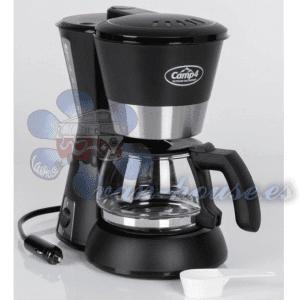 Cafetera 12V 170W – Negro 650ml (4-6 tazas)