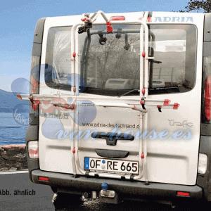 Portabicicletas Carry Bike para Renault Trafic, Opel Vivaro y Nissan Primastar con Portón Trasero