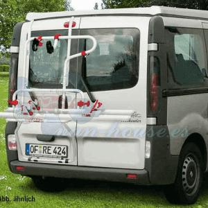 Portabicicletas Carry Bike Trasero para Renault Trafic D, Opel Vivaro y Nissan Primastar 2016