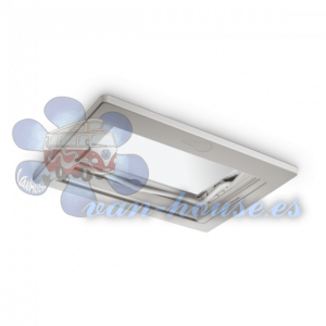 Claraboya Midi Heki Style 700×500 mm Blanca con apertura Palanca (SIN VENTILACIÓN FORZADA)
