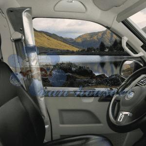 REMI Estor Enrollable para Parabrisas VW T5 Color Gris (Hasta Finales de 2009)