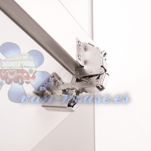 Bisagra Plegable de Sistema de Cierre Suave – Peso de Aleta Ajustable (Paquete 1 Pieza)