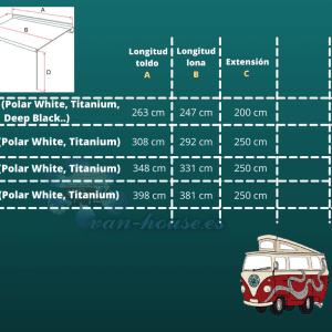 Toldo FIAMMA F45S – Toldo de pared (Manual)