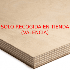 TABLERO ABEDUL BB/BB 2500x1250x15 mm. (CRUDO)