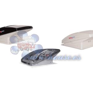 Claraboya con Ventilador MaxxFan (Elegir Color) Apertura Manual y/o Eléctrica