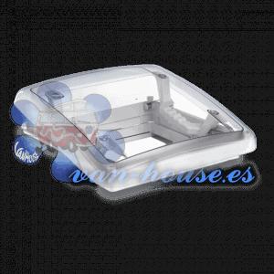 Claraboya Mini Heki S 40x40cm (Con Ventilación Forzada) con Oscurecedor y Mosquitera