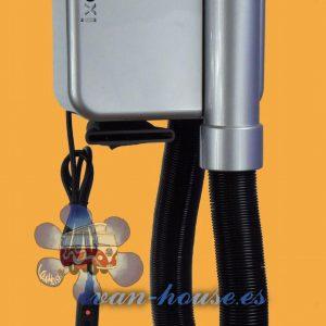 Secador Ixoo 12V – Cable 3m – Color Gris Plata