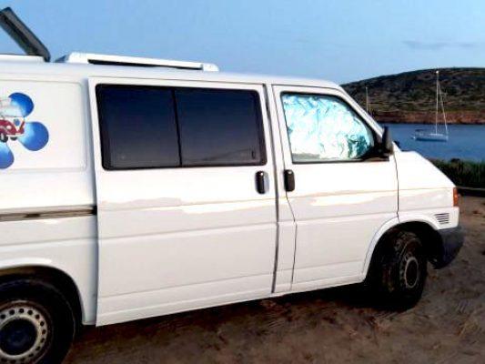furgo VW Camper 2 personas para Ibiza